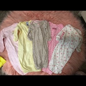 Super cute baby nightgowns
